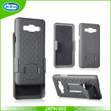 Shell Weave Holster Combo Case for Apple iPhone 6 4.7 Inch/On5 Screen with Kick-Stand and Belt Clip
