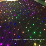 RGB 3in1 LED Star Curtain/Star Cloth for Stage Backdrop Decortation