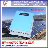 48VDC-80A PV Charge Controller with Large LCD Display