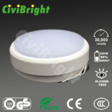 Daylight White Round Wall Lights 12W Damp-Proof LED Lamp