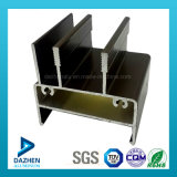 South Africa Top Selling Window Door Frame Aluminium Profile with Bronze Color