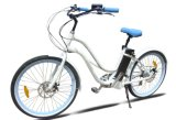 Chinese Merry Gold 7 Speed Woman Beach Cruiser Ebike