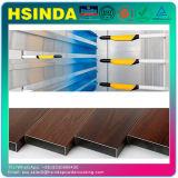 Wood Effect Finish Heat Transfer Powder Coating for Powder Coated Aluminum Door