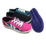 Latesr Design Injection Canvas Shoes Skate Shoes (FF17601-9)