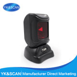 Omni Directional Barcode Scanner with 0 to 230mm Depth Field, CE, FC and ISO Certifications
