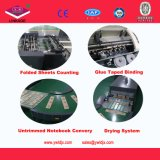 Fully Automatic Cold Glue Taped Notebook Production Line China