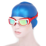 Wearproof Silicone Swimming Glasses for Man and Woman