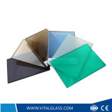 Clear/Blue/Grey/Bronze Laminated Glass as Building Glass with Csi (L-M)