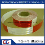 DOT C2 Red and White Diamond Grade Reflective Truck Tape