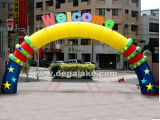 New Style Inflatable Welcome Arch for Celebration Customized