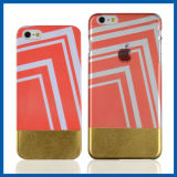 Clear Edging Gold Hard Back Case for iPhone 6 Plus