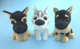 Stuffed Plush Dog Toy 3 Asst. with Husky