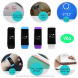 New Waterproof IP68 Smart Bracelet with Heart Rate Monitor (V66)