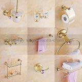 Golden Brass and Zinc Bathroom Accessories
