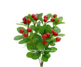 Artificial/Plastic/Silk Fruit Cherry Bush (26A4308)