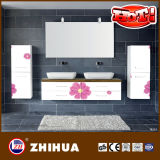 Vanity Door Home Furniture From Flower UV Panel (ZHUV factory)
