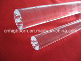 Polish Transparent Quartz Glass Rod