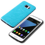 S7 Edge Leather Cover Mobile Cell Phone Case