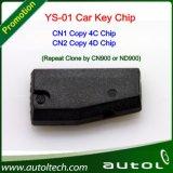 Auto Keys Ys-01 Chip Transponder (CN1 Copy 4C Chip&CN2 Copy 4D Chip) Working with ND900/Cn900 Programmer