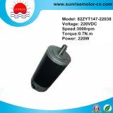 220VDC 0.7n. M 220W PMDC Electric Motor