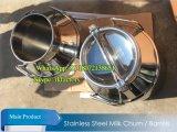 Stainless Steel Milk Receiving Tank Milk Can Milking Tank