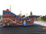 0.5mm Plato PVC High Quality Inflatable Pirate Ship for Kids