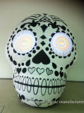 New Design Halloween Inflatable Skull Head for Decoration