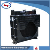 S12r-Pta2/Ztd10e Mitsubishi Series Diesel Engine Generator Set Radiator