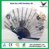 Summer Portable Plastic Fan for Advertisement Business Gift
