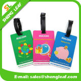 Promotional Funny Color ID Card Rubber Luggage Tag (SLF-LT021)