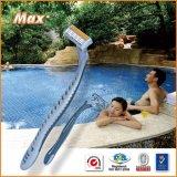 Triple Stainless Steel Blade Disposable Shaving Razor (LV-3080)