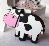 Cartoon Animal Dairy Cow USB Flash Drives with Keychain