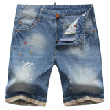 2016 Men′s Fashion Cotton Denim Shorts