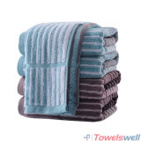 Luxury 100% Cotton Striped Hand Towel
