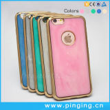 Luxury Marble Jade Electroplated Phone Case for iPhone 6/6s