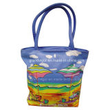 Stylish Canvas Cotton Shopper with Long Handles