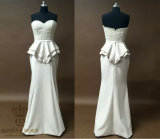 High Quality Long Bandage Dress with Franch Lace. Evening Dress