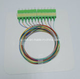 Pigtail Sc/APC for Fiber Optic
