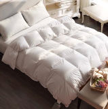 Luxury Home Textile 50% White Goose Down Quilt for Hotel