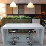 Kkr Customized Modern Long High Acrylic Marble Bar Table