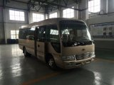 Toyota Type Front Semi Swing Door / Sliding Door Coaster Mini Bus