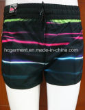 Swimwear Beachwear Strip Surf Beach Shorts for Women/Lady