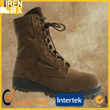 Cow Leather Upper Cheap Military Tactical Desert Boot