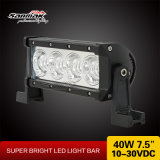7.5 Inch 40W CREE LED Light Bar for Offroad