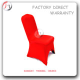 Red Color Tight Fitting Restaurant Wedding Hall Chair Cover (YT-57)