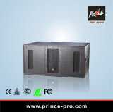 PPR-928 Prince Dual 18inch High Power Ultra Compact Subwoofer