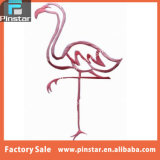 Factory Directly Wholesale High Quality Custom Souvenir Design Flamingo Iron on Embroidery Applique Patch