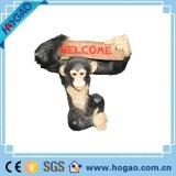 Resin Animal Statue Monkey for Welcome Decoration