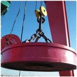 Rechargeable Circular Round Iron Bar DC Lifting Scrap Magnets