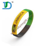 Cheap Custom Shape Silicone Wristband for Promotion